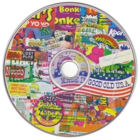Factory CD label with logos