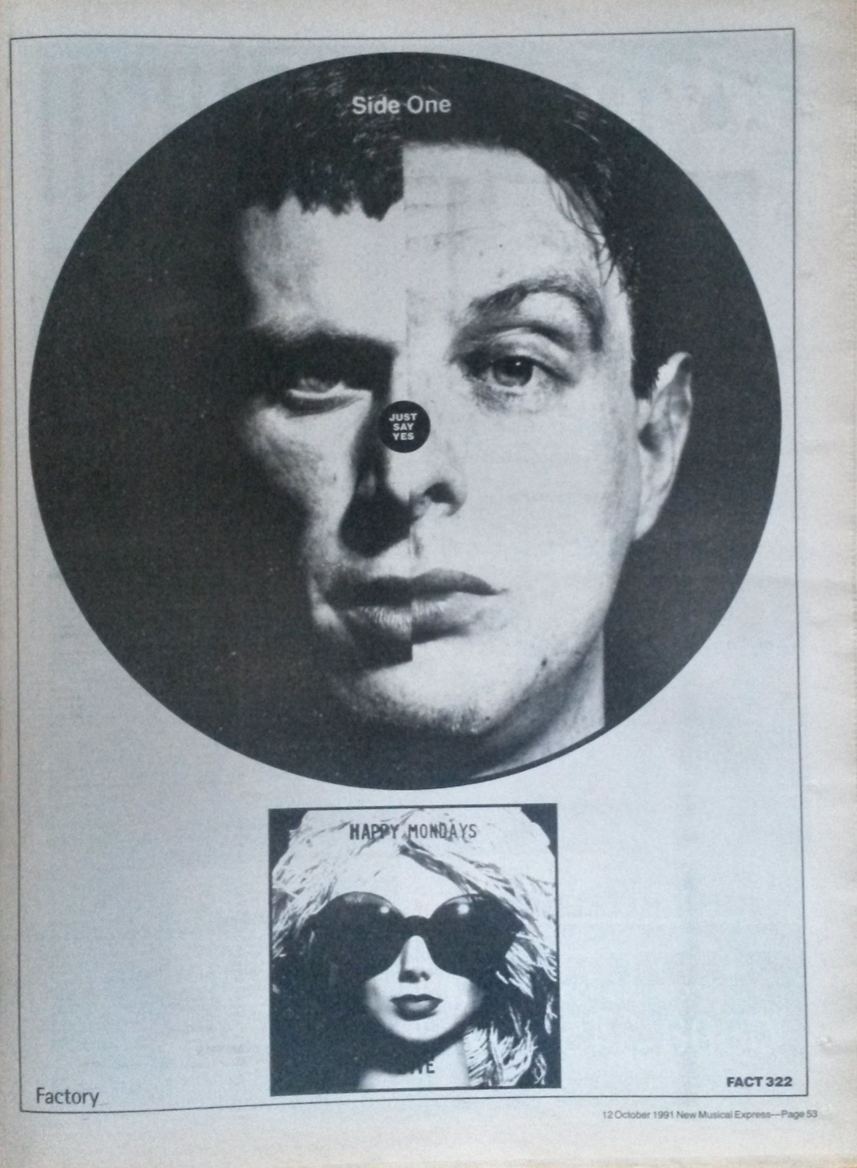 NME ad